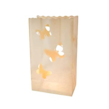EUTOPICA Pack de 20 Bolsas de luz (luminarias) - Candle Bags ...