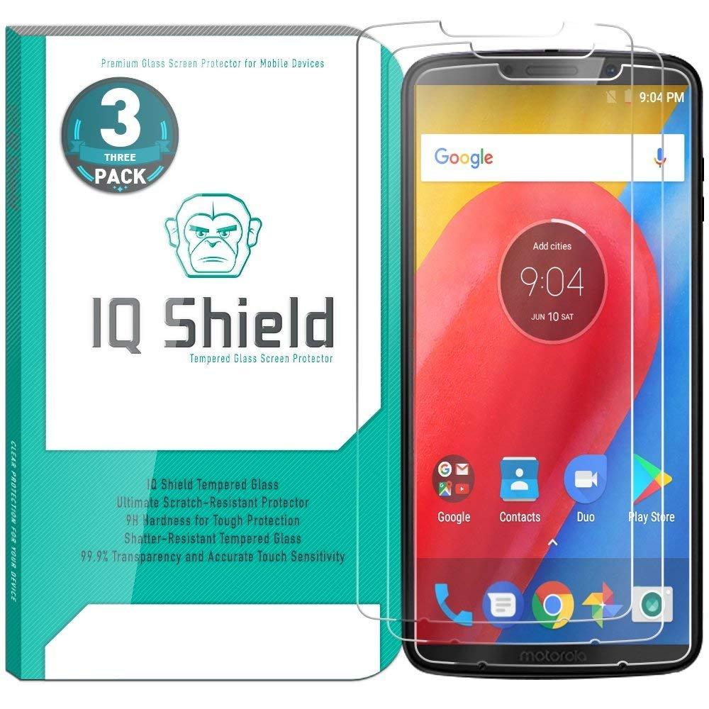 Vidrio Templado IQSHIELD p/ Moto Z3 Play Pack x 3