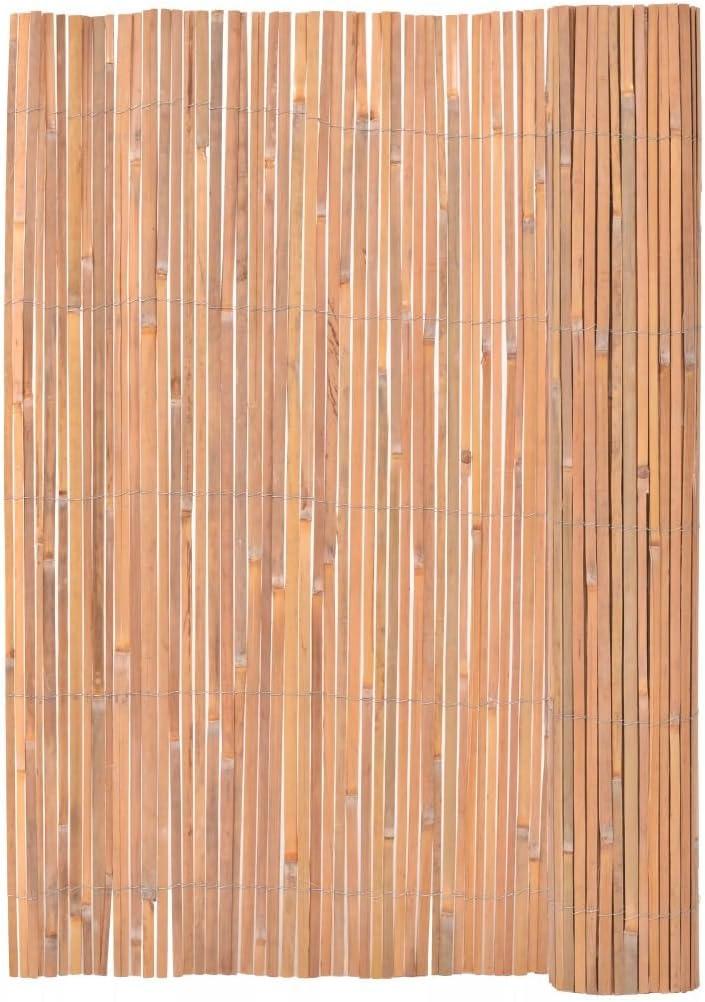 Tidyard Valla de Madera para Jardín Bar Patio Comercial y Residencial, Decoración Al Aire Libre,Bambú 200x400cm: Amazon.es: Hogar