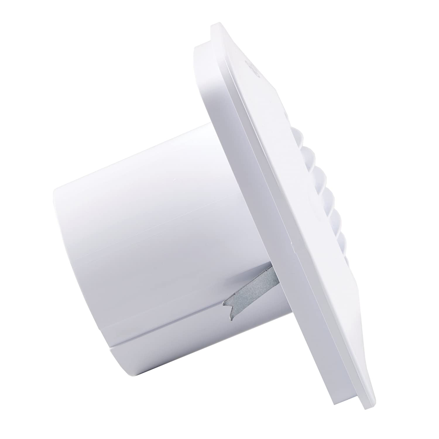 Cool White Xpelair DX100BS 4-Inch Standard Square Bathroom Fan