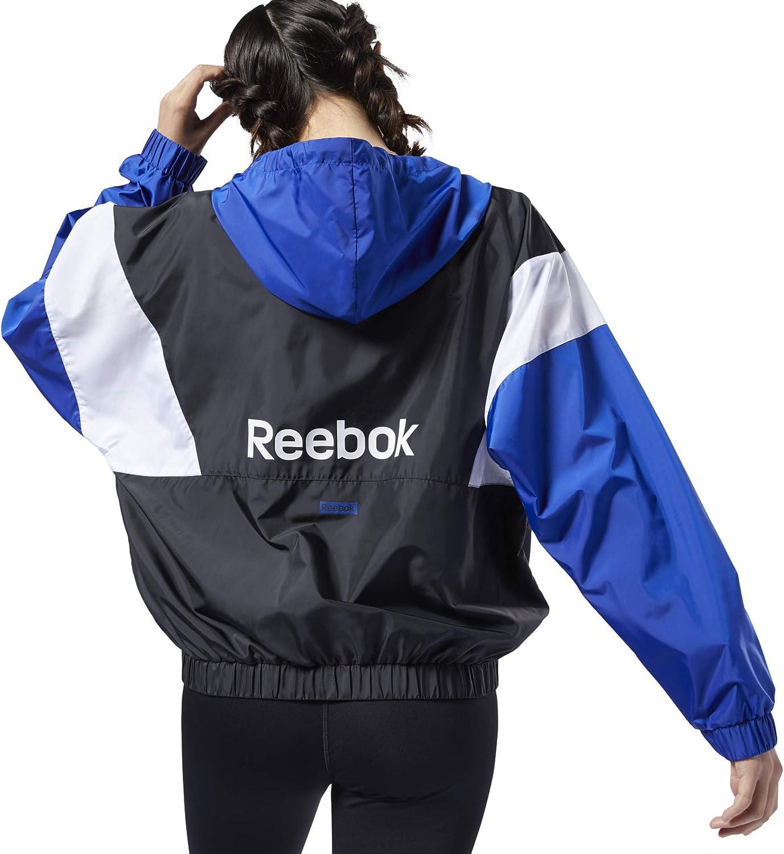 Reebok Linear Logo Windbreaker Veste Femme: