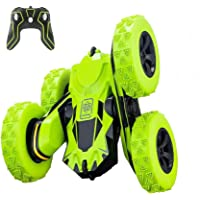 Remote Control Car, Apsung RC Stunt Car,4WD Rechargeable 2.4Ghz Remote Control Car, Double Sided Rotating Tumbling 360…