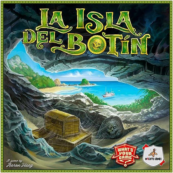 Maldito Games La Isla del botín - Juego de Mesa en Castellano ...