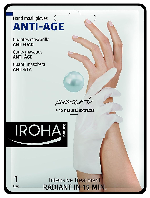 Iroha Guanto maschere–Pearl Glove Mask, 1er Pack (1X 1pezzi) 659406