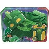 Giochi Preziosi Super Pigiamini Pj Masks Costume Travestimento Geco, Colore Verde, Taglia Unica PJM07500