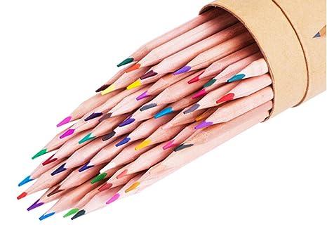 48 piezas para colorear lápices de colores para artista Sketch Dibujo – colores surtidos