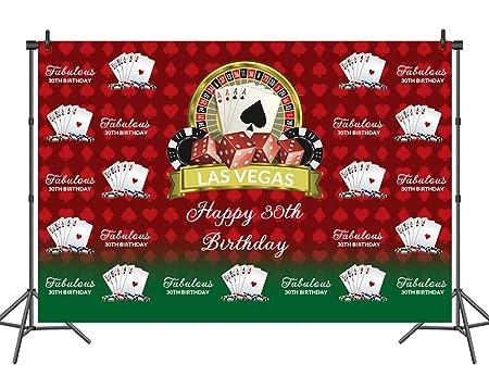 Sensfun Las Vegas - Fondo para fiesta de cumpleaños con ...