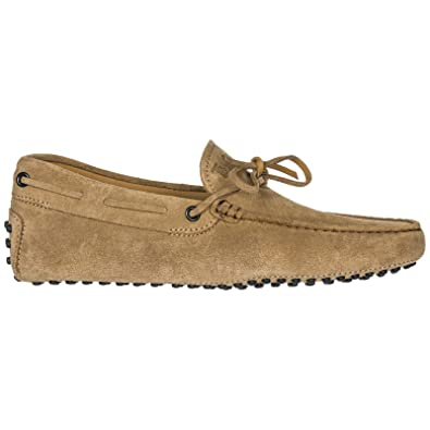 Amazon.com | Tods Men Gommino Moccasins Beige | Loafers & Slip-Ons