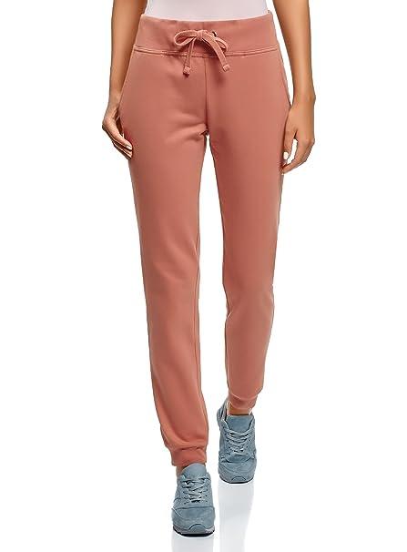 oodji Ultra Damen Jersey-Hose im Sport-Stil