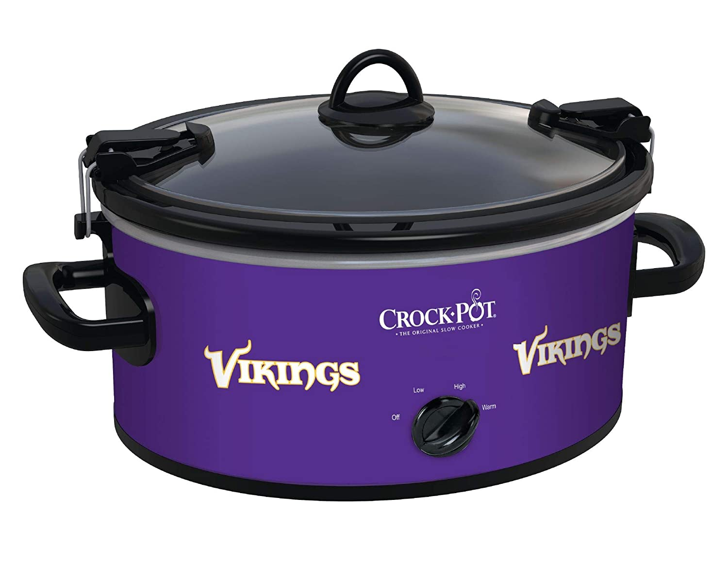 Crock-Pot Minnesota Vikings NFL 6-Quart Cook & Carry Slow Cooker