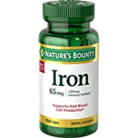 Nature's Bounty 65 Mg, 100 Tablets