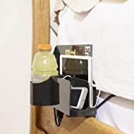Night Caddy Deluxe Bedside Organizer - Includes USB Charger, Power Cord, Adjustable Attachment