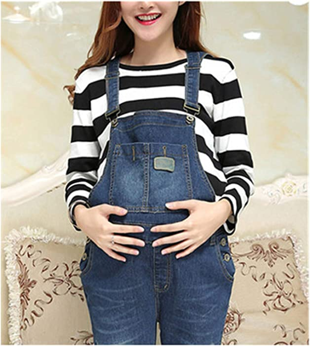 2d6c15458 Susie Zechariah Pregnant Women s Clothes Jeans Ropa Embarazada Maternity  Zwanger Pregnancy Clothes Blue M at Amazon Women s Clothing store