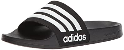 new concept 9cfbe 0b540 adidas Performance Men s CF Adilette Slide Sandal, Core Black White Core  Black,