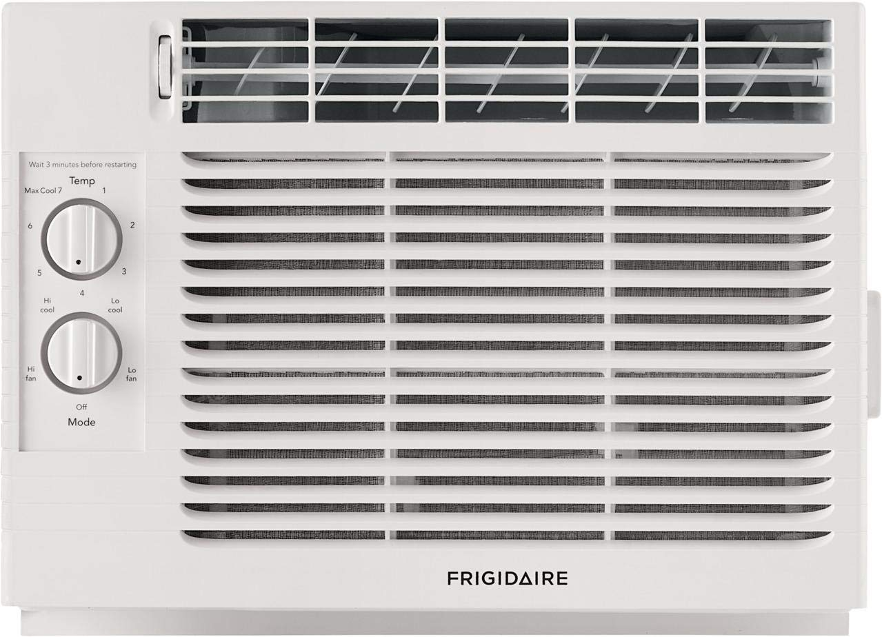 Frigidaire FFRA051ZA1 17'' Window Air Conditioner with 5000 BTU Cooling Capacity - 115V in White by FRIGIDAIRE