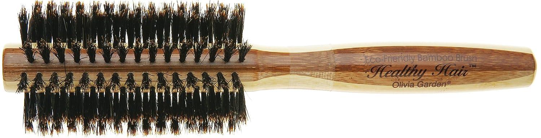 Olivia Garden Healthy Hair B20 - Cepillo de bambú, 100% cerda de jabalí, 20 mm BR-HH1PC-BO020