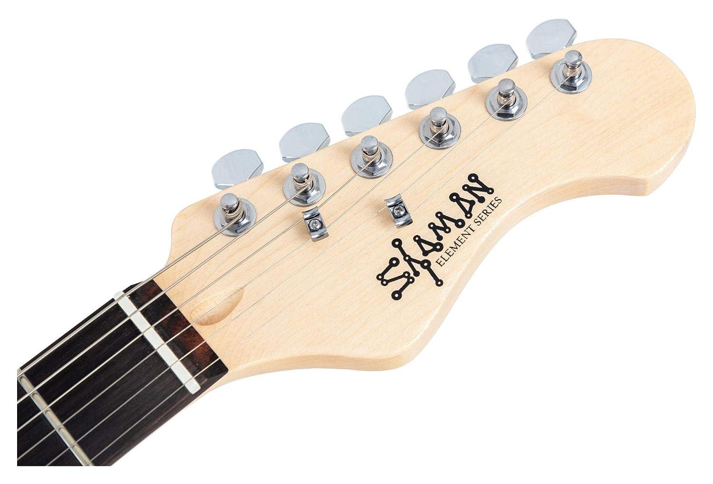 Guitarra Eléctrica Shaman Element Series STX-100B roja: Amazon.es: Instrumentos musicales