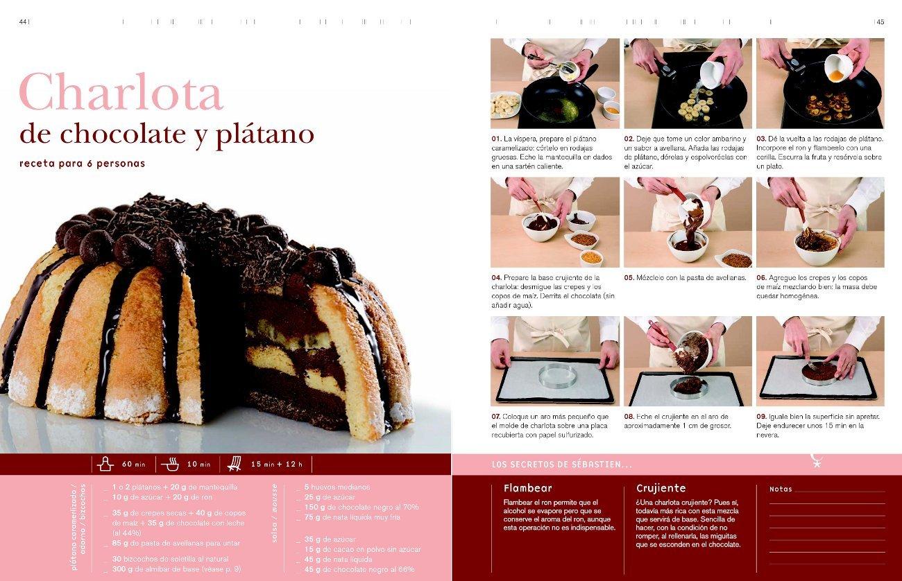 Curso de cocina : charlotas: Sébastien ; Gallegos Mora, Emma Serveau: 9788496669642: Amazon.com: Books