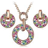 cb5d7c04a1bd9 Amazon.com: LADY COLOUR Silver Cuff Bracelet for Women for Mum ...