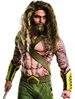 Adult Aquaman Beard and Wig Set - Batman Dawn of Justice