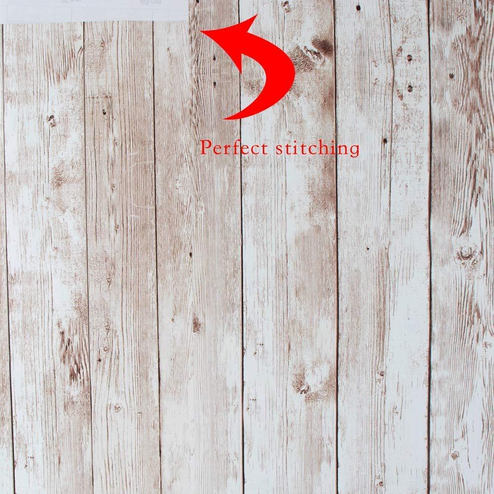 Vinilos Decorativos 45 cm x 300 cm Actualizaci/ón Grano Madera Vinilo Texturizada Etiqueta Autoadhesiva Liner Respaldo Pegajoso Rollo Papel Tapiz para Puerta Cocina Ba/ñ Papel Adhesivo para Muebles
