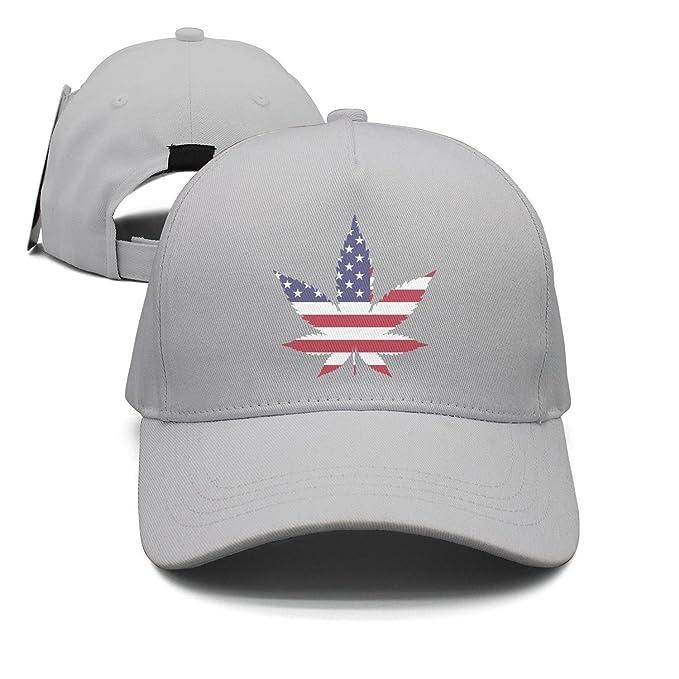 62d14fb4671ea America Southern California Marijuana Leaf Man Popular Peaked Cap Sport Hat  Trucker Hat
