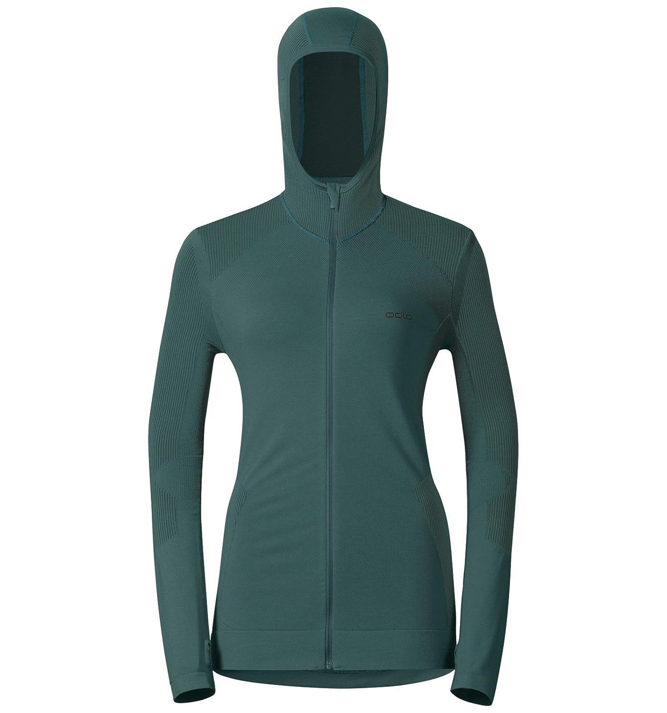 Odlo Damen Pullover Hoody Midlayer Full Zip Soul: Amazon.de: Sport ...