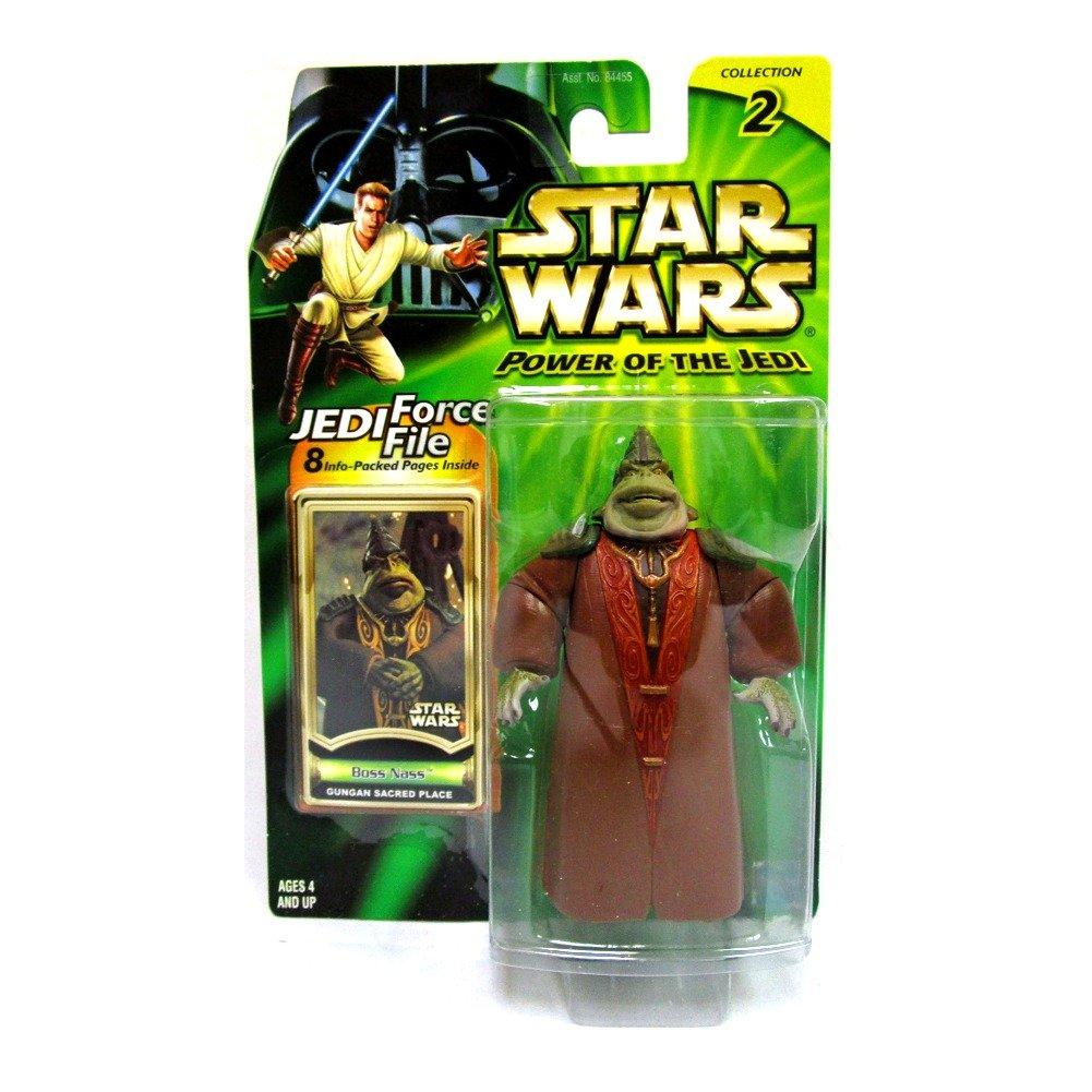 Gungan Sacred Place Power of the Jedi Boss Nass Star Wars Action Figure Hasbro 84773