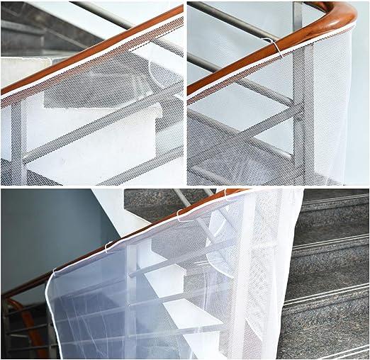 Cizen Red de Seguridad Malla, Malla de Seguridad Ajustable para Balcones de Escaleras o Patios, Proteger a los Niños, Bebés y Mascotas(300 * 75cm /118.11 * 29.53in): Amazon.es: Hogar