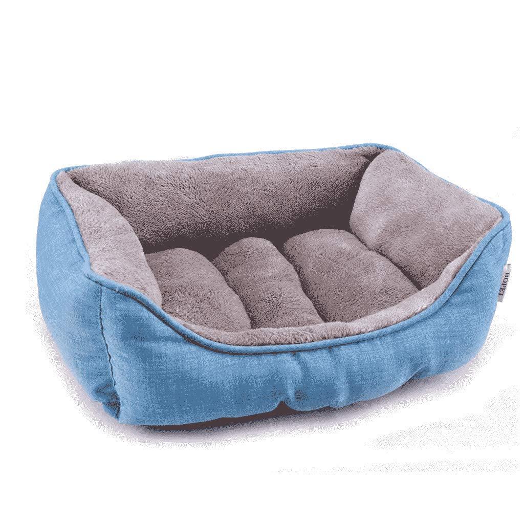 golden Retriever Autumn Kennel Husky Labrador Teddy Pet Nest Dog Bed WHLONG