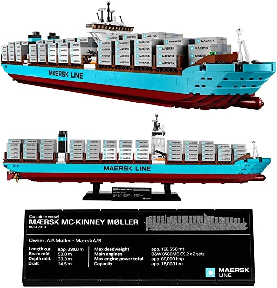 LEGO 10241 Maersk Line Triple-E Lego Creator (Jap?n importaci?n ...