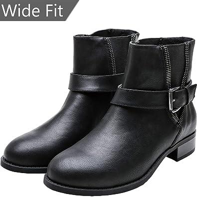 2892c0a6aca Women s Wide Width Ankle Boots