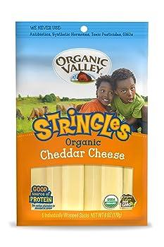 Organic Valley Cheddar String Cheese