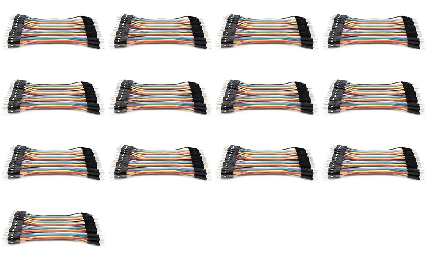 13 x Quantity of Walkera Runner 250 (R) Advanced GPS Quadcopter Drone Dupont 40 Qty 10cm 2.54mm 1pin Male to Male Jumper Wire Dupont Cables - FAST FROM Orlando, Florida USA
