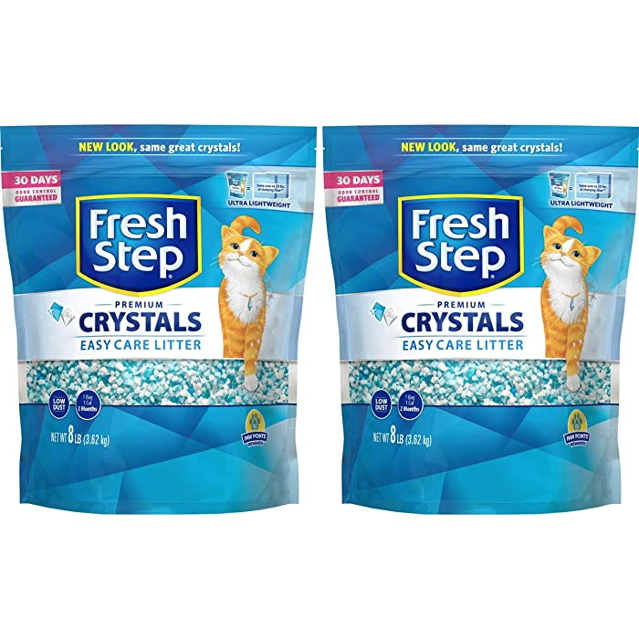 The Best Nature's Miracle Easy Care Formula Crystal Litter