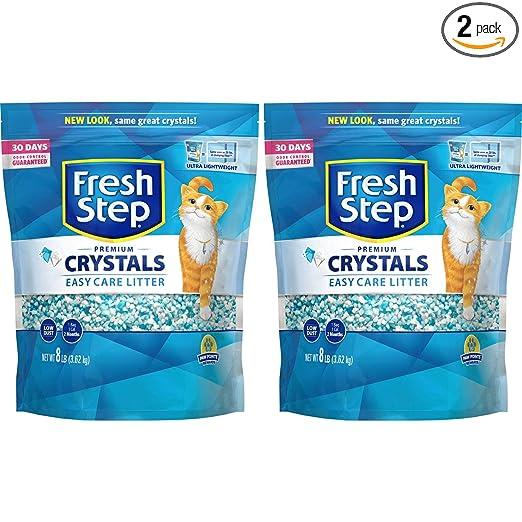 Fresh Step Crystals 8 Pound Variations
