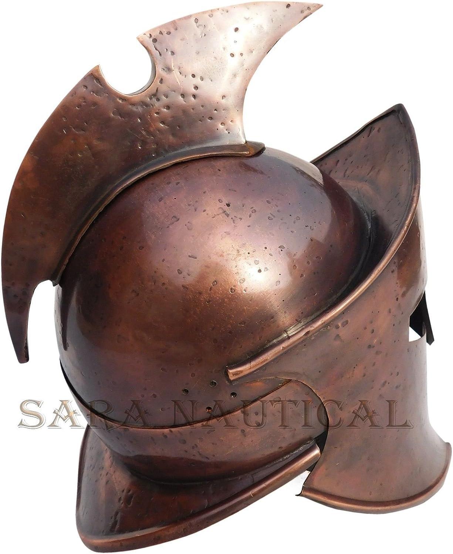Romano Centurión Medieval Armor casco vikingo disfraz de 300 casco ...