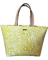 Kate Spade Jules Grant Street Travel Tote Bag Yellow