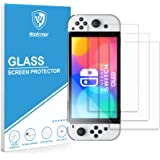 WeArmor Tempered Glass Screen Protector Compatible with Nintendo Switch OLED model (3-Pack)
