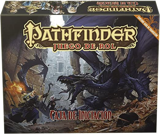 Devir - Pathfinder: Caja de iniciación, Juego de Mesa (PFCABA): Amazon.es: Juguetes y juegos