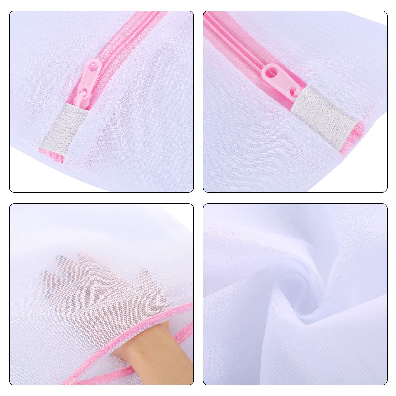 moinkerin 7 Piezas Bolsas de Malla para Lavadora para la Colada Blusas calcetería lencería Ropa de bebé: Amazon.es: Hogar