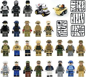 Maykid Set of 24 Army Minifigures SWAT Team