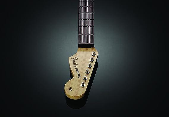 Rock Band 3Wireless Fender Mustang Pro Guitar, Rojo: Amazon.es: Videojuegos