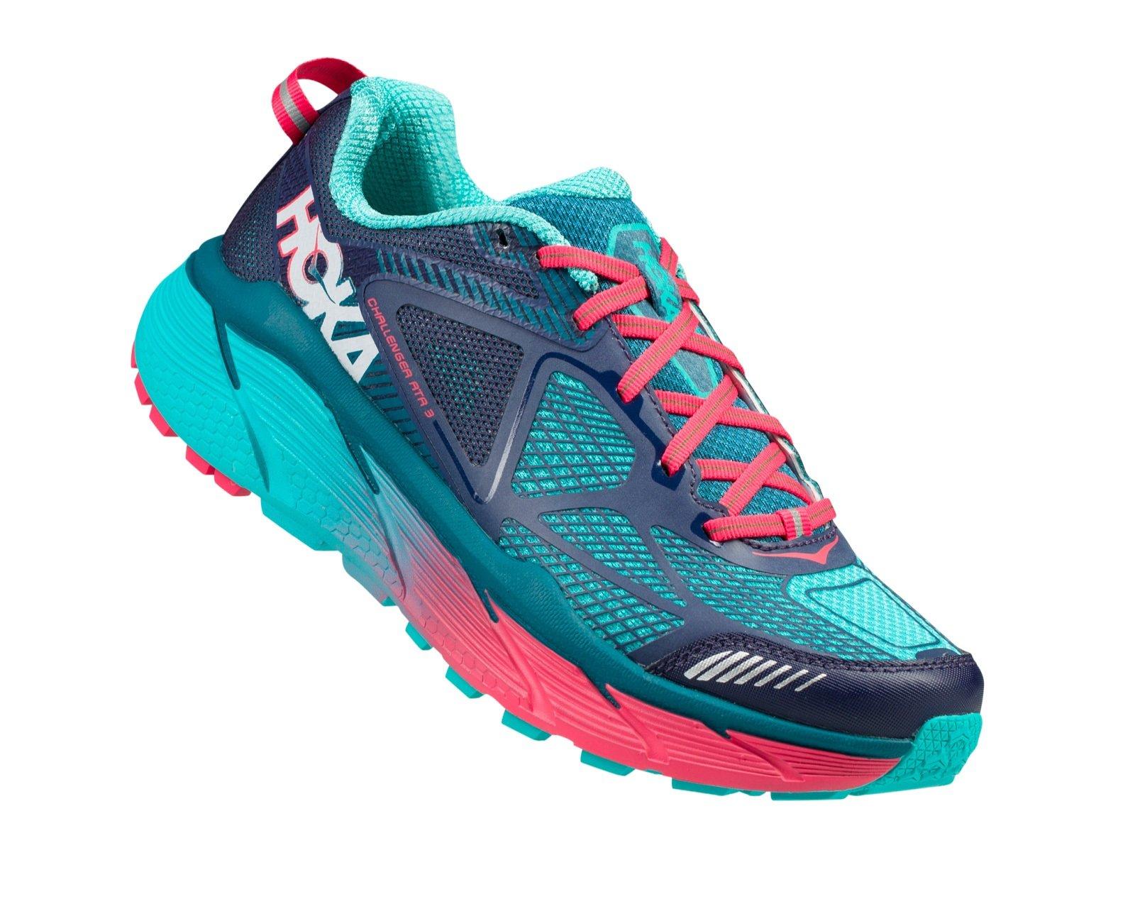Hoka One One Challenger ATR 3 Trail Running Shoes - Peacoat/Ceramic - Womens - 6