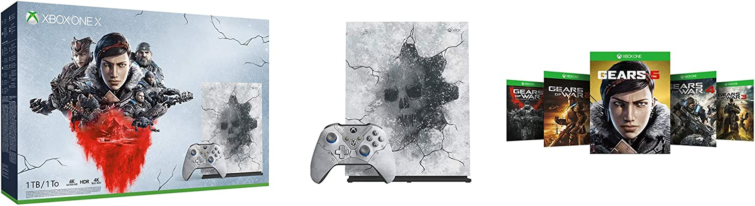Xbox One X Gears 5 Limited Edition bundle (1TB) [Importación inglesa]: Amazon.es: Videojuegos