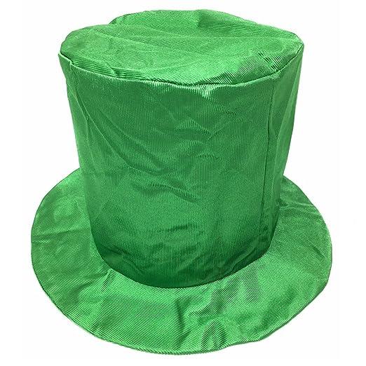 Amazon.com  Adult Shiny Green Top Hat ~ Fun New Year s 6b33b1ae718