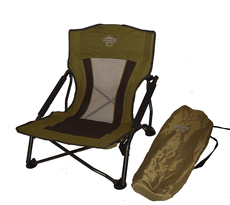 Crazy Creek Crazy Legs Quad Beach/Festival Chair Olive Green [並行輸入品] B077QH84QX