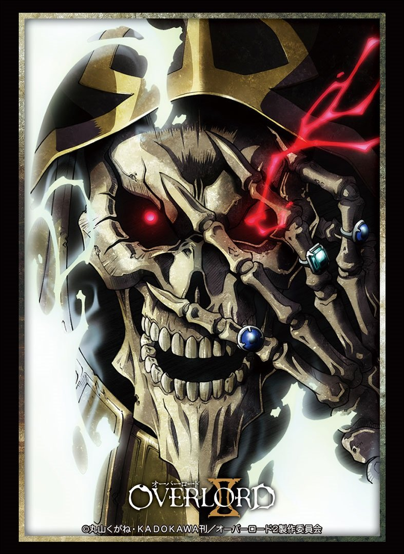 Bushiroad Overlord Ainz Ooal Gown Card Game Character Sleeves Collection HG Vol.1491 Anime Art High Grade