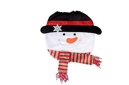 e51801a6c0934 Amazon.com  Snowman Christmas Themed Toilet Seat Lid Cover