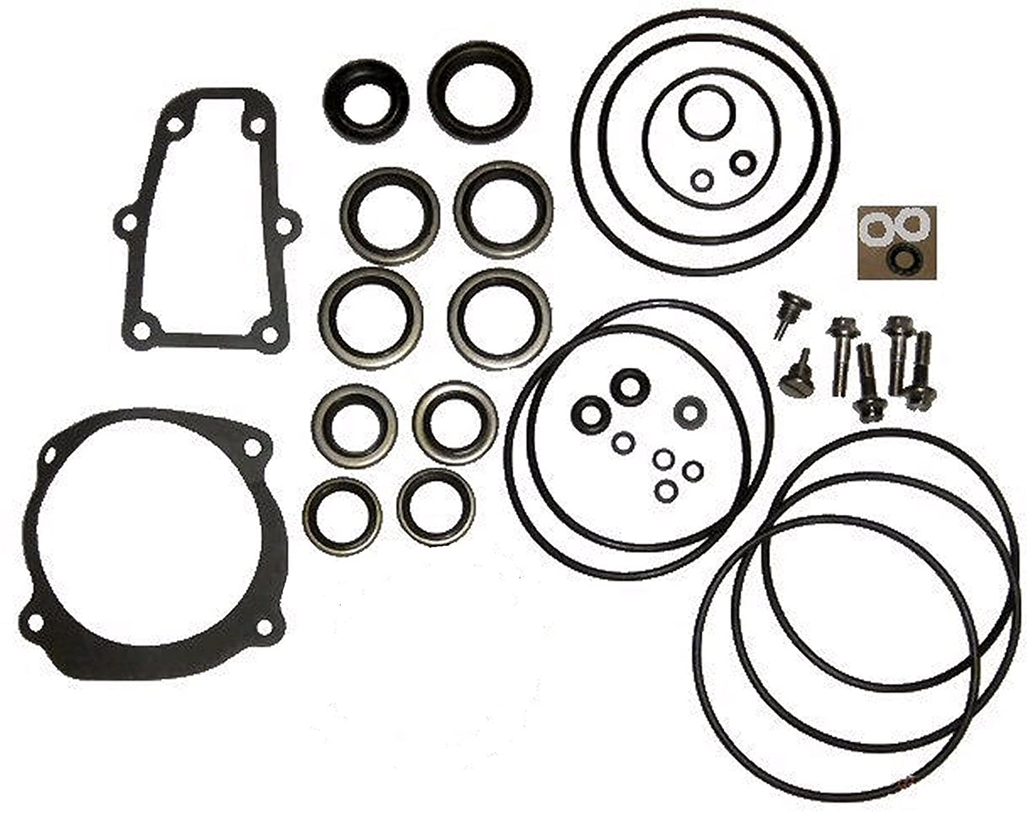 plete lower unit seal kit for johnson evinrude v4 v6 v8 1984 115 HP Evinrude plete lower unit seal kit for johnson evinrude v4 v6 v8 replaces 5006373 5000411 boat engine parts amazon canada